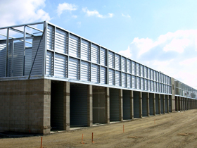 Multi story self storage facilities for Storage unit building plans